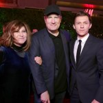 Amy Pascal, Kevin Feige, Tom Holland