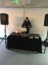 DJ spinning some sounds