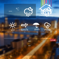 DSC-Solutions HomeWizard Weather Widget