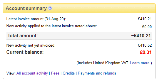 eBay took £410 from me to pay a scammers fees
