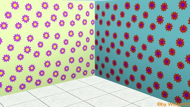 Blumen 1 – Muster Sims 3