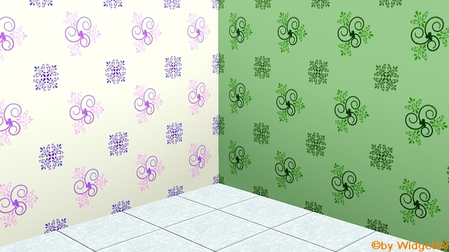 Florales Ornament 2 – Muster Sims 3