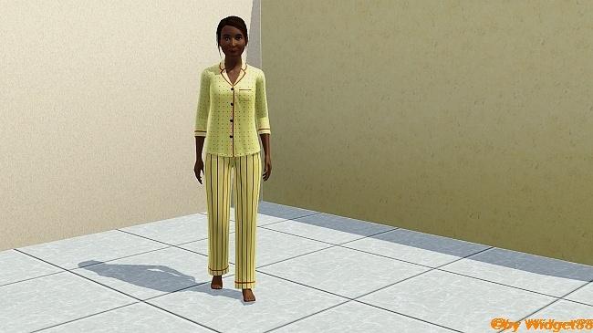 Punkt trifft Linie – Kleidung Sims 3