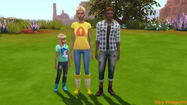 Sumpf Haus Familie