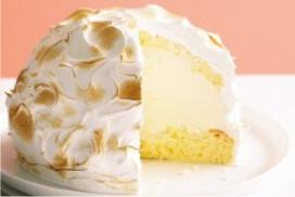 Resep Meringue Bombe Lemon Cheese Ice Cream Lezat