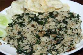 Resep Nasi Goreng Daun Mengkudu Gurih