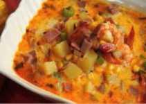 Resep Soup Chowder Udang Jagung yang Sedap