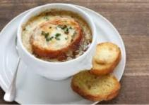 Resep soupe A L'oignon Spesial Lezat