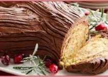 Resep Kue Buche De Noel Asli Enak