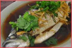 Resep Steam Ikan Kakap Asli Lezat
