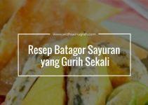 Resep Batagor Sayuran yang Gurih Sekali