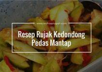 Resep Rujak Kedondong Pedas Mantap