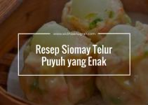 Resep Siomay Telur Puyuh yang Enak