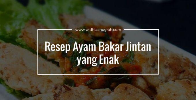 Resep Ayam Bakar Jintan yang Enak