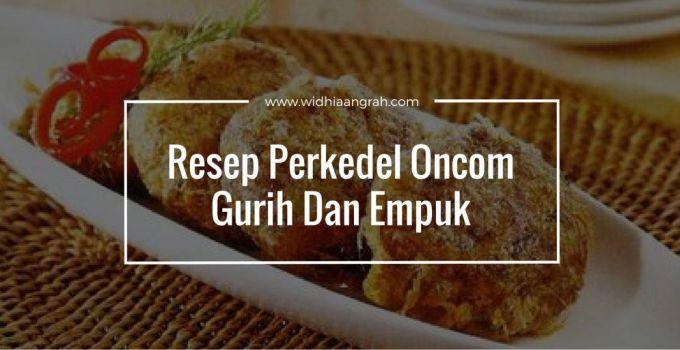 Resep Perkedel Oncom Gurih Dan Empuk