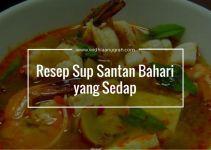 Resep Sup Santan Bahari yang Sedap
