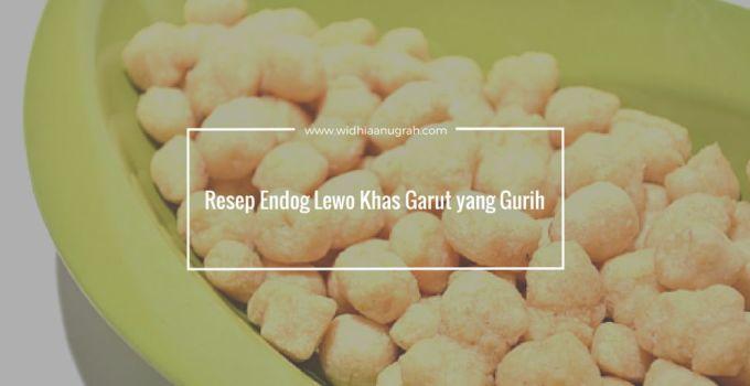 Resep Endog Lewo Khas Garut yang Gurih
