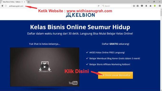 kelas bisnis online kelbion