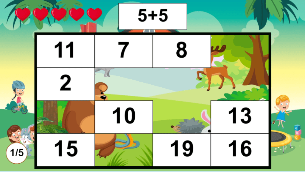 Puzzle Math Addition and Subtraction