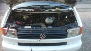 VW T5  Going the extra mile to diagnose  repair a