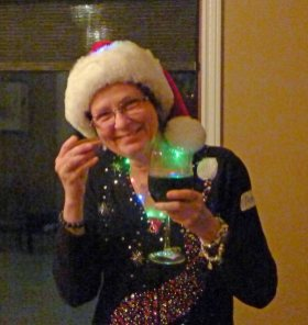 And cheers to you Anne