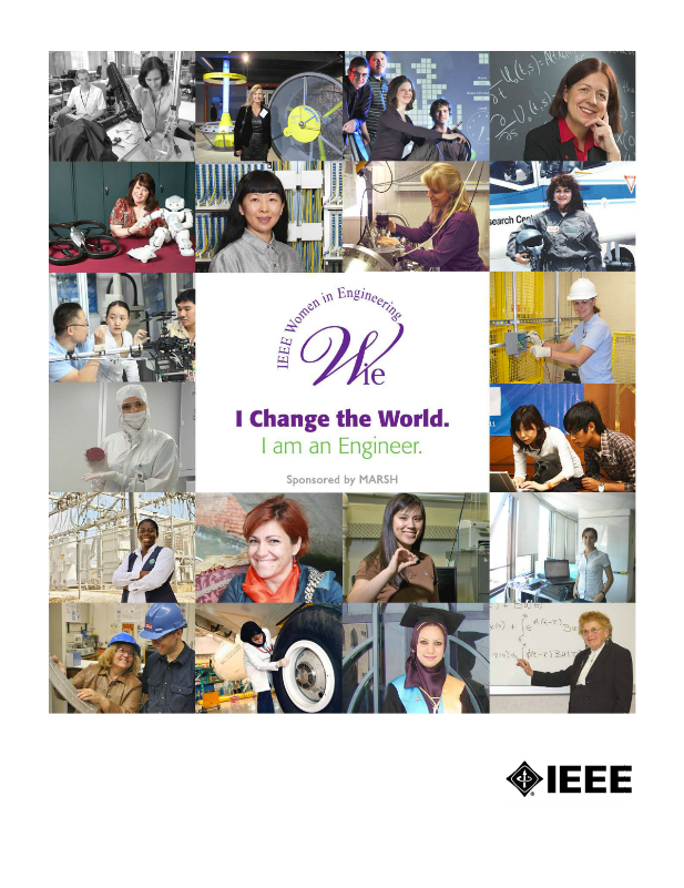 Women in Engineering photo collage