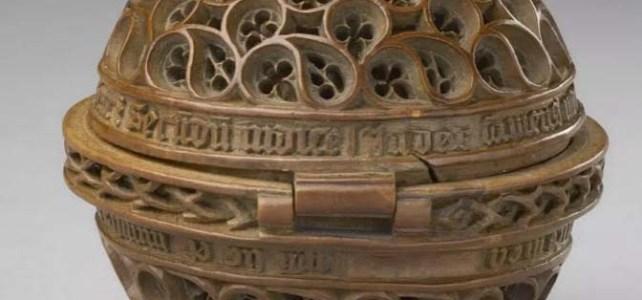 De gebedsnoot in het Louvre, Parijs