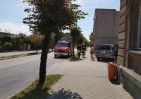 Więcbork: Kolizja na ul.Pocztowej