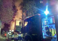 PILNE: Pożar stogu słomy w Zgniłce