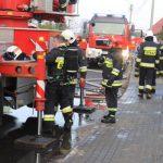 Pożar budynku mieszkalnego w Zalesiu [Foto/Wideo]