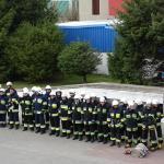Szkolenie podstawowe dla strażaków ratowników OSP z powiatu sępoleńskiego.