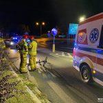 Sępólno Krajeńskie: Rowerzystka potrącona przez radiowóz