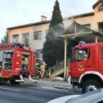 PILNE: Pożar w Urzędzie Skarbowym w Nakle nad Notecią