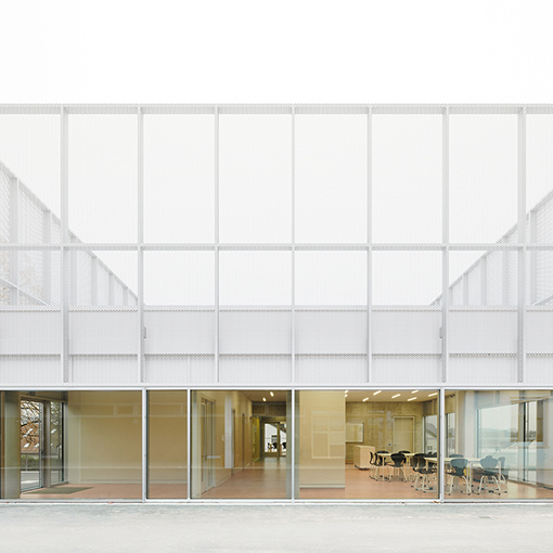 Gemeinschaftsschule Leutenbach, Neubau für Ganztagesbetreuung mit Mensa, 71397 Leutenbach, Foto: Brigida Gonzales