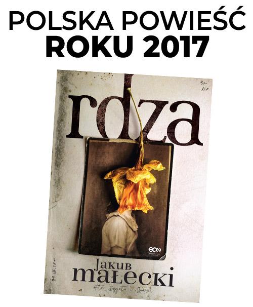 RDZA Jaku Małecki - Polska powieść roku 2017