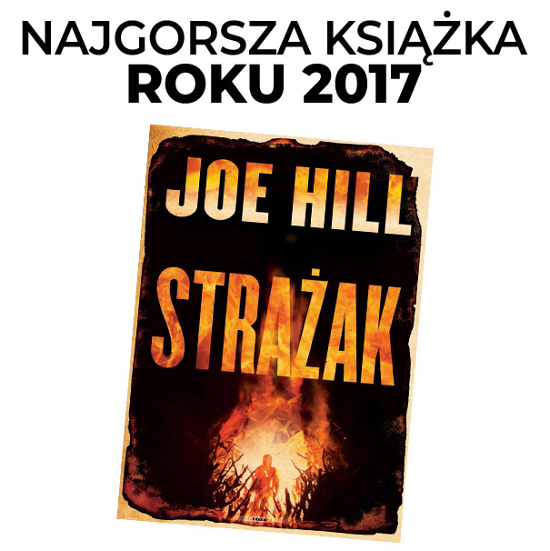 Najgorsza książka roku 2017