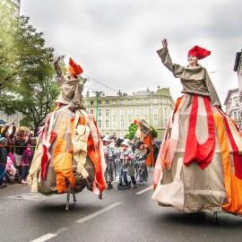 Parada z okazji imienin ulicy Święty Marcin