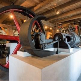 Muzeum Historii Przemysłu w Opatówku. Zabytkowe maszyny parowe