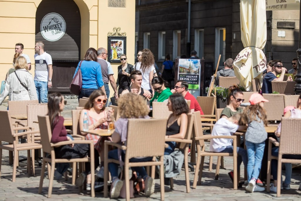Poznań za Pół Ceny - restauracja na rynku
