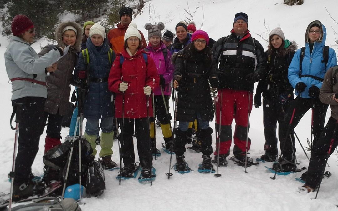 Schneeschuhtour 2014/15