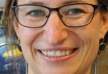 Viola Kessel im Schulgespräch