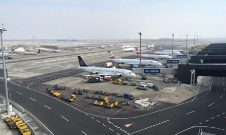 Flughafen Wien von innen/oben/drinnen
