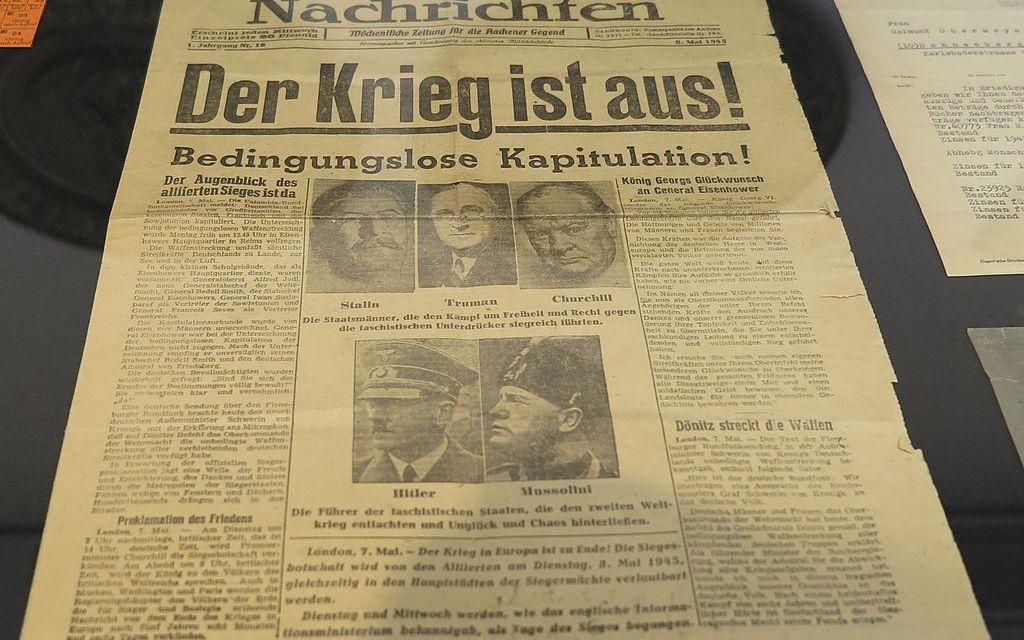 8. Mai 1945: Tag der Befreiung