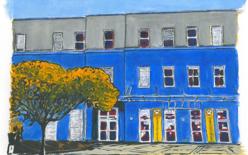 Schulprojekt: Bäume im Schulhof