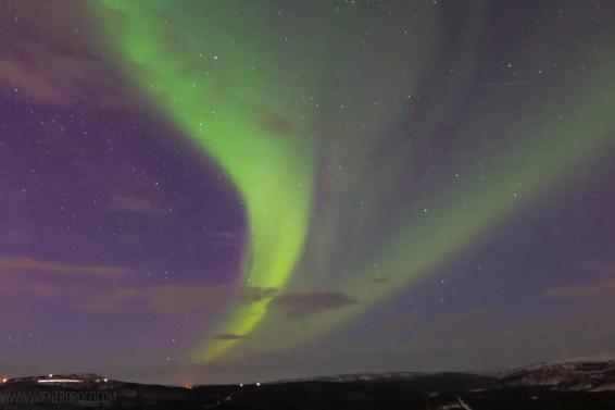 """Mit der AIDAcara in Alta im Winter in Norwegen auf der Reise """"Winter im hohen Norden"""" - Nordlichter (Polarlichter) erleben und Nordlichter fotografieren [wienerbroed.com]"""