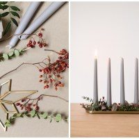Adventsgesteck DIY Idee