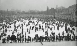 Download von www.picturedesk.com am 21.10.2015 (12:29). Ansicht vom Eislaufverein. Blick in der Längsachse vom Konzerthaus in Richtung Stadtpark. - 19350101_PD5309
