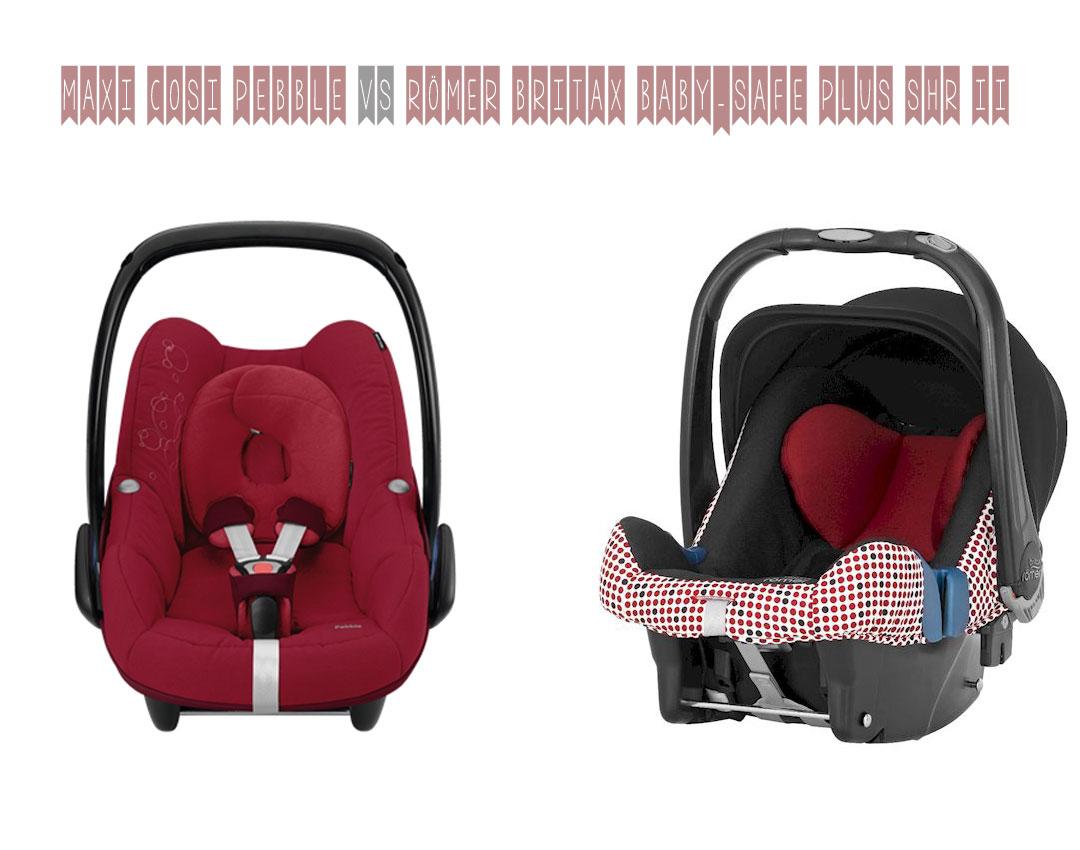 auto babyschalen vergleich maxi cosi pebble vs britax r mer baby safe plus shr ii. Black Bedroom Furniture Sets. Home Design Ideas