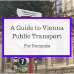 A Dummy's Guide to Vienna Public Transport
