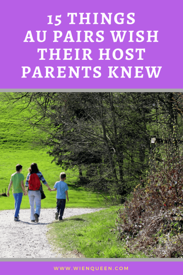au pair host parents